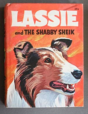 LASSIE AND THE SHABBY SHEIK; TV (1968; Hardcover BIG LITTLE BOOK - BLB #27 - Whitman #2027);;