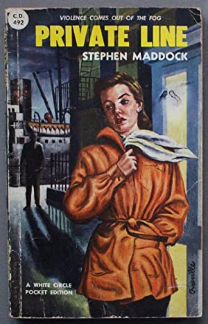 Private Line (Mystery; 1st paperback (Canadian Collins White Circle # 492).