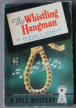 THE WHISTLING HANGMAN.- Duncan MacLain Mystery. (Dell Mapback #113)