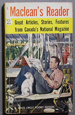 Maclean's Reader (Anthology; Attractive 'Norman Rockwell' - style . (Canadian Collins White Circl...