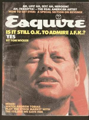 ESQUIRE MAGAZINE (June 1977; Volume 87 #6; Whole # 523); Frank Frazetta Art & 13 Page interview...