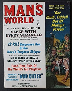 MAN'S WORLD magazine; (December 1963; Volume 9: MARIO PUZO (Associate