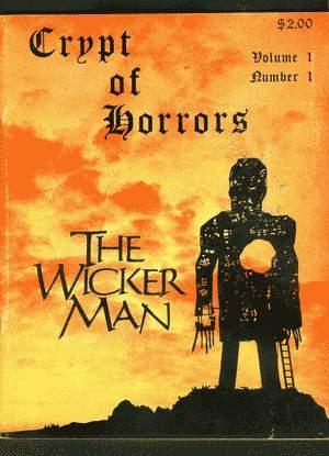 CRYPT OF HORRORS Volume 1 #1; WICKER: David Andrews, Fritz