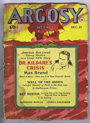 ARGOSY. December 21,1940. >> Well of the: BRAND, MAX (aka;