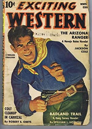 EXCITING WESTERN (Pulp magazine) . Winter, 1941.: Jackson Cole ---