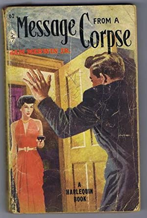 MESSAGE FROM A CORPSE. (vintage Harlequin #62 ) An Amy Brewster Mystery