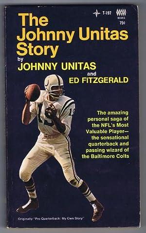 THE JOHNNY UNITAS STORY. (1968 - Tempo: Unitas, Johnny. Fitzgerald,