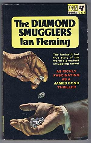 THE DIAMOND SMUGGLERS. (1964 Pan Book # G328 ) TRUE CRIME