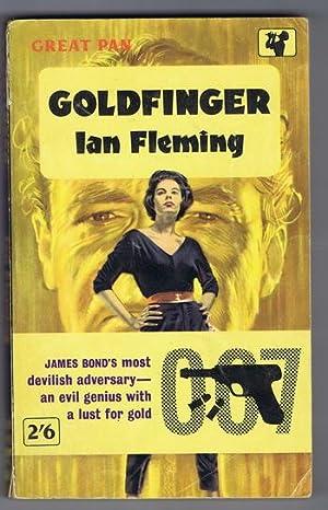 GOLDFINGER. (1962 - Great Pan Book # G455 ) James Bond - OO7 Adventure: Fleming, Ian.