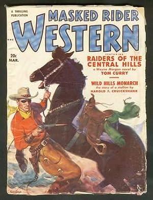 MASKED RIDER WESTERN, Pulp magazine. March, 1951.: Curry, Tom. --