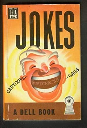JOKES, GAGS AND WISECRACKS. ( Dell Book # - 152 ); Cartoon & Joke Book.