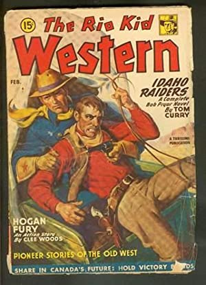 THE RIO KID WESTERN, Pulp magazine. -: Curry, Tom. --