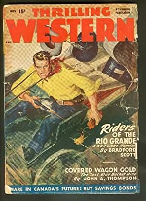 THRILLING WESTERN, Pulp magazine. November, 1948. >>: Robert Moore Williams.