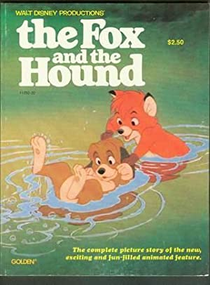 THE FOX AND THE HOUND (Walt Disney Full-Length Cartoon Film/Movie Tie-in) Complete Picture Story ...