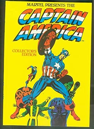 Captain America Collectors Edition - 1981 ANNUAL. ( UK British Hardcover Color Comics ) Avengers ...