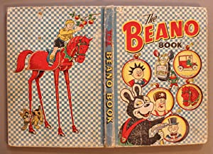 the BEANO BOOK 1952 Annual (published 12/1951; Cover depicts; BIFFO the BEAR is nailing pictures ...