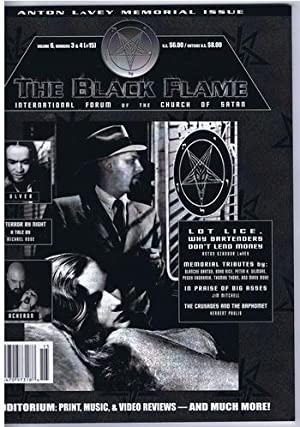 The Black Flame Magazine Volume 6, numbers: Gilmore, Peter H.