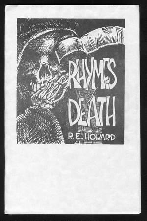 RHYMES OF DEATH.