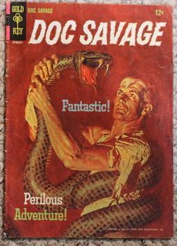 "DOC SAVAGE #1 ( Gold Key Comics Pub ) -- "" The THOUSAND-HEADED MAN "", in the November &#..."