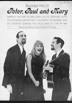 Recorded Hits of PETER, PAUL, and MARY: Sears, Jerry .