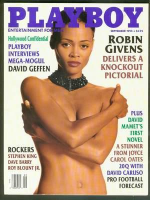 PLAYBOY - Magazine (Volume 41 #9; September 1994) Robin Givens / David Geffen interview /...