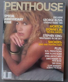 PENTHOUSE - Magazine (Volume 20 #1; September: KING, STEPHEN. /