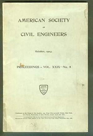 Volume 29; #8; October 1903; >> PROCEEDINGS