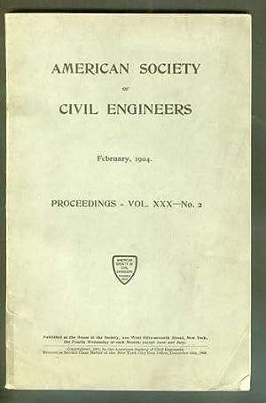 Volume 30; #2; February 1904; >> PROCEEDINGS