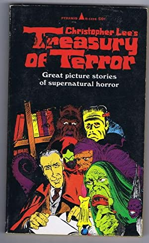 CHRISTOPHER LEE'S TREASURY OF TERROR - Great Picture Stories of Supernatural Horror #R-1498 [...