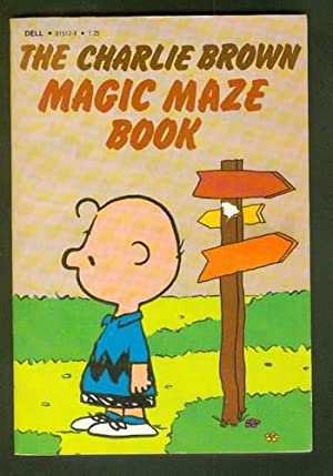 THE CHARLIE BROWN MAGIC MAZE BOOK.