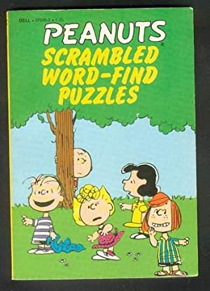 PEANUTS SCRAMBLED WORD-FIND PUZZLES.: Schulz, Charles M. (related)!