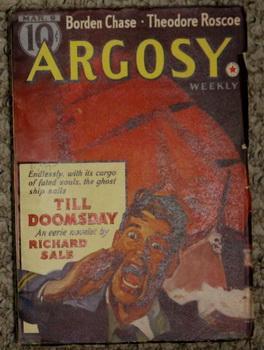 ARGOSY Pulp magazine. March 9,1940. >> Till: Sale, Richard. ---
