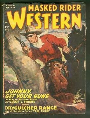 MASKED RIDER WESTERN, Pulp magazine. December, 1948.: Oscar J. Frieind
