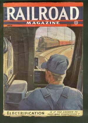RAILROAD Magazine (Pulp) - July, 1944 >>: James Daugherty William