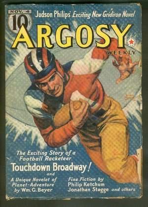 ARGOSY Pulp magazine. November 4, 1939. >>>: Philips, Judson P.
