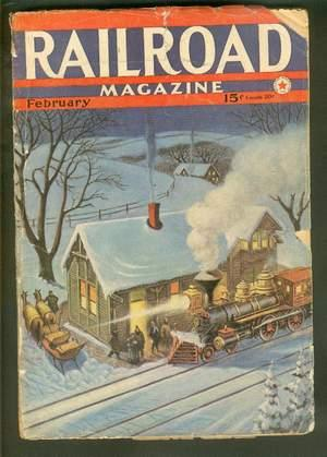 RAILROAD Magazine (Pulp) - February, 1942. >>: D.H. Hilliker, Clifford