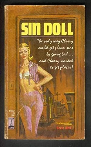 SIN DOLL. ( Beacon Book # B655F ); Cherry Gordon - Nude Photography, Wayward Youth, Bi-Sexual &...