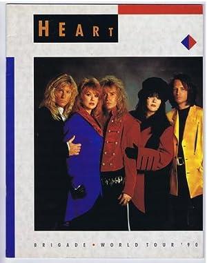 HEART Brigade World Tour Book; 1990 (Concert Tour Program Book)