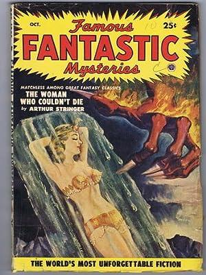 FAMOUS FANTASTIC MYSTERIES (PULP Magazine) 1950; October.: Arthur Stringer; Andre