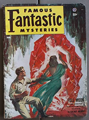 FAMOUS FANTASTIC MYSTERIES (PULP Magazine) 1953; February;;: Talbot Mundy; Cedric R. Mentiplay; ...