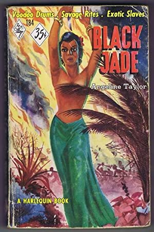 BLACK JADE (#184 in the Original Vintage HARLEQUIN Paperback Series); 18th Cenrury Tropical Carib...