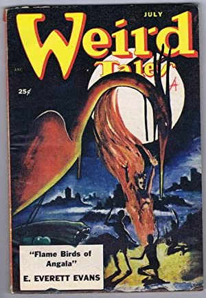 WEIRD TALES (Pulp Magazine) July 1951; Flame: Merle Constiner; E.