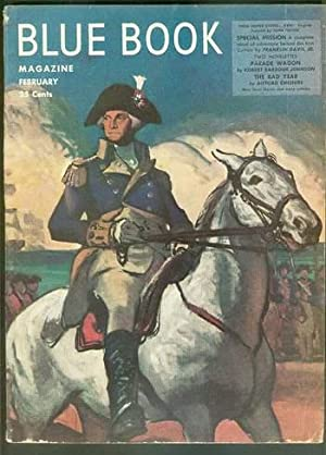 BLUE BOOK MAGAZINE (Bedsheet Size Pulp Magazine).: Franklin M. Davis,