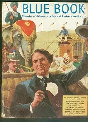 BLUE BOOK (Pulp Magazine) April 1951 >>: James M.Fox; W.F.