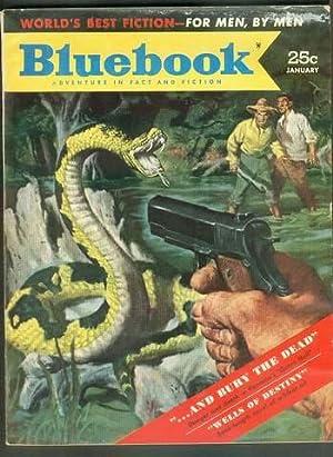 BLUE BOOK January 1953 (Bluebook Pulp Magazine: Clay Randall; Joseph