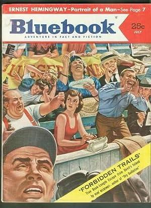 BLUE BOOK Magazine July 1953 (Bluebook Pulp: ERNEST HEMINGWAY (Related)