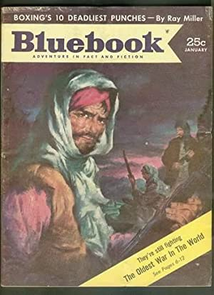 BLUE BOOK Magazine January 1954 (Bluebook Pulp: Lionel White --