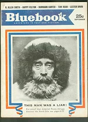 BLUE BOOK Magazine September 1953 (Bluebook Pulp: John Euller (re
