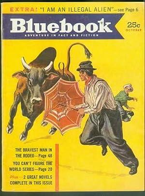BLUE BOOK Magazine October 1953 (Bluebook Pulp: George Scullin; Steve