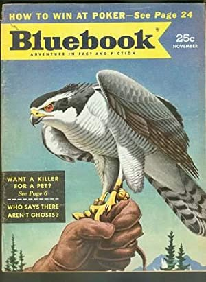 BLUE BOOK Magazine November 1953 (Bluebook Pulp: John D. MacDonald